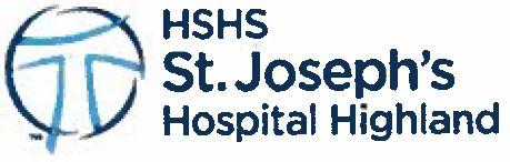 HSHS St Josephs Highland Hospital Logo